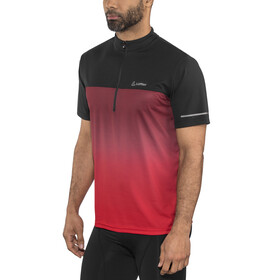 Löffler Flow Bike Shirt Half-Zip Herren rot